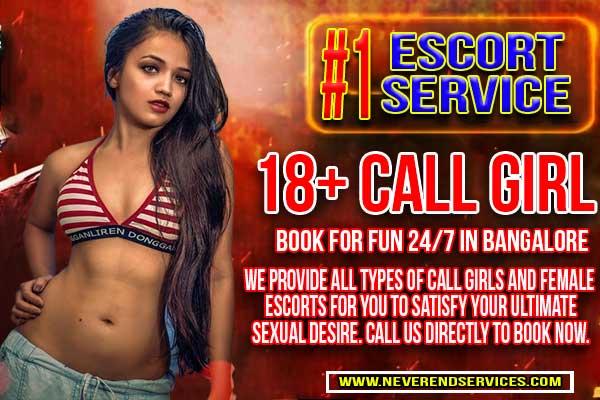 18 plus escorts n call girls in Bangalore