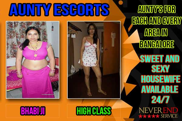 aunty escorts in Bangalore