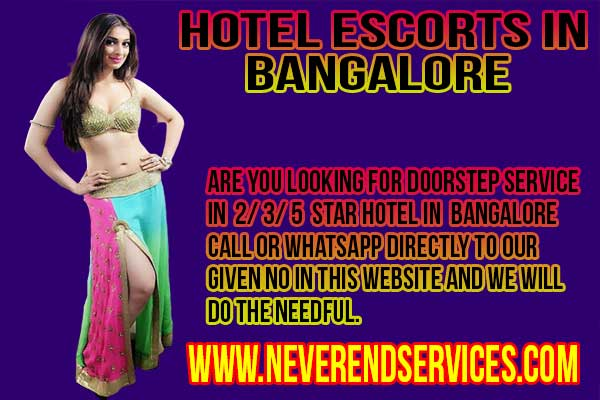 escorts girls in your hotel which you have previously booked